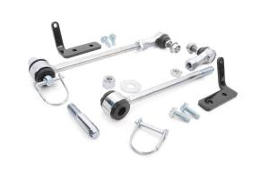 Rough Country - Jeep Front Sway-bar Disconnects | 3.5-6in (07-18 Wrangler JK) - Image 3