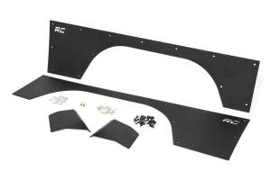 Rough Country - Jeep Front Upper and Lower Quarter Panel Armor (97-01 Cherokee XJ) - Image 2