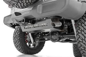 Rough Country - Jeep Muffler Skid Plate (18-19 Wrangler JL) - Image 2