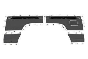 Rough Country - Jeep Rear Upper and Lower Quarter Panel Armor (97-01 Cherokee XJ) - Image 3