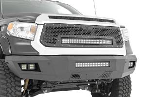 Rough Country - Toyota Heavy-Duty Front LED Bumper (14-19 Tundra) - Image 2