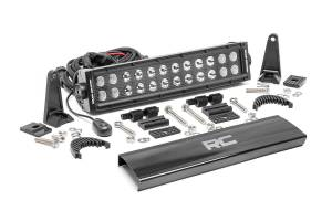 Lighting - Offroad Lights - Rough Country - 12-inch Cree LED Light Bar - (Dual Row | Black Series)