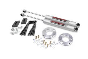 Rough Country - 2 in Ford Leveling Lift Kit (2014-20 F-150)