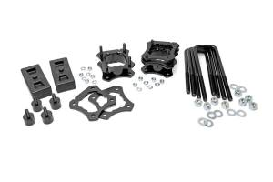 Steering And Suspension - Lift & Leveling Kits - Rough Country - 2.5-3in Toyota Leveling Lift Kit (07-20 Tundra 2WD)