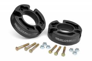 Steering And Suspension - Lift & Leveling Kits - Rough Country - 2.5-inch Suspension Leveling Strut Spacers | 04-08 F150