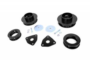 Steering And Suspension - Lift & Leveling Kits - Rough Country - 2.5in Dodge Lift Kit (12-18 Ram 1500 4WD)