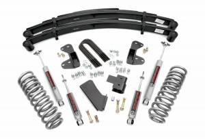 Steering And Suspension - Lift & Leveling Kits - Rough Country - 2.5in Ford Suspension Lift System W/Rear Leaf Springs