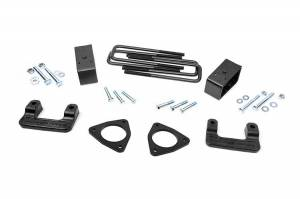 Steering And Suspension - Lift & Leveling Kits - Rough Country - 2.5in GM Leveling Lift Kit (07-18 1500 PU | Cast Steel & Cast Aluminum)