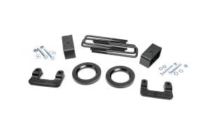 Steering And Suspension - Lift & Leveling Kits - Rough Country - 2.5in GM Leveling Lift Kit (07-18 1500 PU | Stamped Steel)
