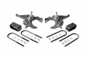 Rough Country - 2in / 3in GM Lowering Kit (S10 P/U & Blazer 2WD)