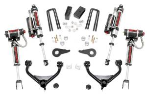 Steering And Suspension - Lift & Leveling Kits - Rough Country - 3.5in GM Suspension Lift Kit w/ Vertex Shocks (11-19 2500/3500HD)