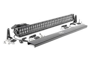 Lighting - Offroad Lights - Rough Country - 30-inch Cree LED Light Bar - (Dual Row | Black Series)