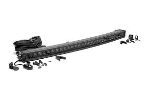 Lighting - Offroad Lights - Rough Country - 30-inch Curved Cree LED Light Bar - (Single Row | Black Series)
