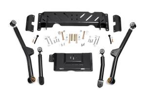 Steering And Suspension - Control Arms - Rough Country - 4-6in Jeep Long Arm Upgrade Kit (84-01 XJ Cherokee - NP242)