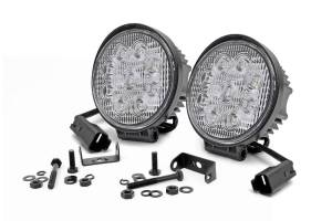 Lighting - Offroad Lights - Rough Country - 4-inch LED Round Lights