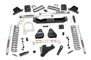 Steering And Suspension - Lift & Leveling Kits - Rough Country - 4.5in Ford Suspension Lift Kit (17-19 F-250/350 4WD | 4in Axle | Diesel )