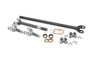 Shop By Part - Axles & Components - Rough Country - 4340 Chromoly Replacement Front Axle Kit - Dana 30, 27 Spline (TJ/YJ/XJ/ZJ)