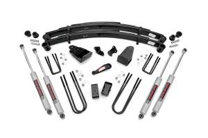 Steering And Suspension - Lift & Leveling Kits - Rough Country - 4in Ford Suspension Lift Kit (1987-97 F250 4x4)