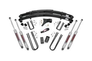 Steering And Suspension - Lift & Leveling Kits - Rough Country - 4in Ford Suspension Lift Kit (1986-97 F350 4x4)
