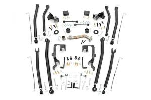 Steering And Suspension - Control Arms - Rough Country - 4in Jeep Long Arm Upgrade Kit (07-18 Wrangler JK | 4-door)