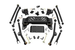 Steering And Suspension - Control Arms - Rough Country - 4in Jeep Long Arm Upgrade Kit (93-98 Grand Cherokee ZJ)