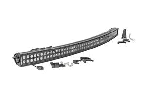 Lighting - Offroad Lights - Rough Country - 50-inch Curved Cree LED Light Bar - (Dual Row | Black Series)