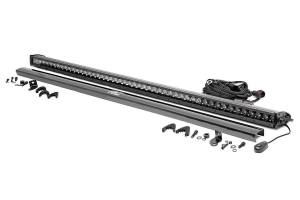 Lighting - Offroad Lights - Rough Country - 50-inch Straight Cree LED Light Bar - (Single Row | Black Series)