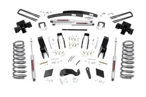 Steering And Suspension - Lift & Leveling Kits - Rough Country - 5in Dodge Suspension Lift Kit (00-02 Ram 2500 4WD)