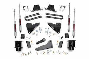 Steering And Suspension - Lift & Leveling Kits - Rough Country - 5in Dodge Suspension Lift Kit | Coil Spacers | Radius Drops (13-15 Ram 3500 4WD)