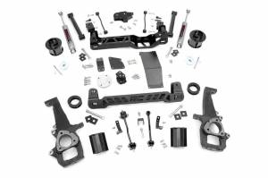 Dodge/Jeep Ecodiesel - 2014-2018 Ram 1500 3.0 Ecodiesel - Rough Country - 6in Dodge Suspension Lift Kit (12-18 Ram 1500 4WD)
