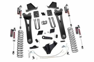 Steering And Suspension - Lift & Leveling Kits - Rough Country - 6in Ford Radius Arm Suspension Lift Kit | Vertex (15-16 F-250 | Overloads)