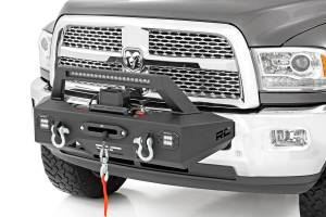 Exterior - Bumpers & Parts - Rough Country - EXO Winch Mount System (14-18 Ram 2500/3500)
