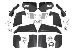 Rough Country - Jeep Front & Rear Inner Fenders Set | Vertex Shocks (07-18 Wrangler JK) - Image 5