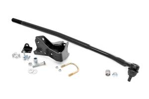 Rough Country - Jeep High Steer Drag Link & Track Bar Bracket Kit (07-18 Wrangler JK) - Image 3