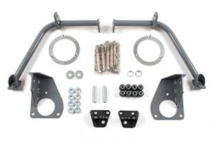 Steering And Suspension - Shocks & Struts - BDS Suspension - BDS Suspension 03-12 Dodge Long Arm Dual Shock Mount Kit 122614