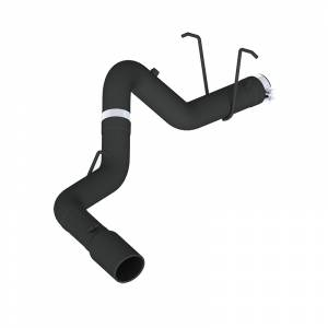 "MBRP - MBRP 4"" Filter Back Black Series Black Coated Exhaust System"