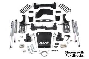 "BDS Suspension - BDS Suspension 4-1/2"" Suspension Lift Kit | 2011-19 GM 2500/3500 4x4"