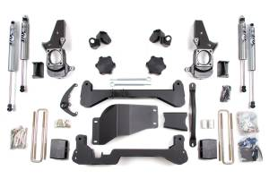 "Steering And Suspension - Lift & Leveling Kits - BDS Suspension - BDS 192H 4.5"" Lift Kit 01-06 GM 1500HD & 2500 NON-HD, 01-10 GM 2500HD 4x4"