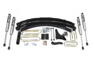 "Steering And Suspension - Lift & Leveling Kits - BDS Suspension - BDS 314H 4"" Suspension Lift Kit for 1999-2004 Ford F250/F350 4WD pickup trucks"