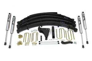 "Steering And Suspension - Lift & Leveling Kits - BDS Suspension - BDS 1302H 6"" Suspension Lift Kit for 1999-2004 Ford F250/F350 4WD pickup trucks."
