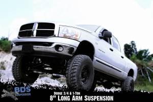 "BDS Suspension - BDS 632H 8"" Long Arm Kit for the 2009-2013 Dodge 2500 3/4 Ton & 2009-2012 3500 1 Ton 4WD Pickup including Mega Cab - Image 5"