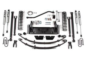 "BDS Suspension - BDS 1427H 4-1/2"" Long Arm Suspension System 