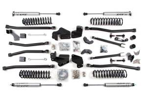 "BDS Suspension - BDS 1407H 4.5"" Long Arm 4-Link Lift Kit 