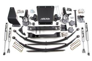 """Steering And Suspension - Lift & Leveling Kits - BDS Suspension - BDS 181H 4-1/2"""" Lift Kit for 1999 - 2007 """"Classic"""" Chevrolet/GMC 4WD Silverado/Serria 1500 4x4"""