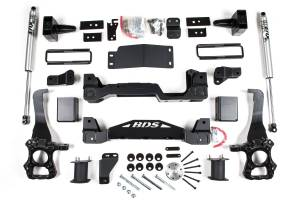 """Steering And Suspension - Lift & Leveling Kits - BDS Suspension - BDS 1533H 4"""" Suspension Lift Kit System 