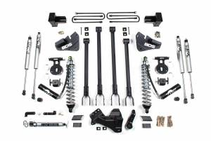 "Steering And Suspension - Lift & Leveling Kits - BDS Suspension - BDS 1537F 4"" Coil-Over 4-Link Suspension System 