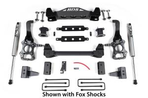 "BDS Suspension - BDS 1504H 4"" Suspension Lift Kit 