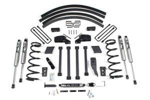 "Steering And Suspension - Lift & Leveling Kits - BDS Suspension - BDS 219H 5"" Long Arm Kit 