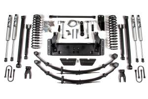 """Steering And Suspension - Lift & Leveling Kits - BDS Suspension - BDS 1433H 6-1/2"""" Long Arm Lift Kit 