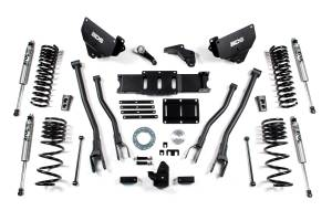 "Steering And Suspension - Lift & Leveling Kits - BDS Suspension - BDS 1604H 6"" 4-Link Suspension System 
